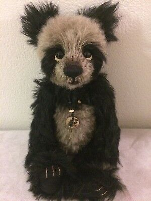 Charlie Bears Isabelle Collection 2015 Quibble Panda Mohair