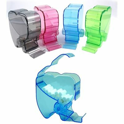 Dental One Touch Cotton Wool Roll Holder Dispenser Rolling Type 4Color Available