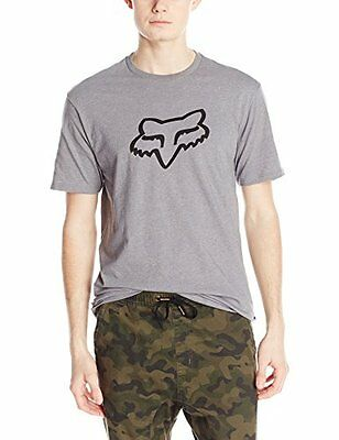 Fox Men's Legacy Head Short Sleeve Tee Heather Graphite X-Large