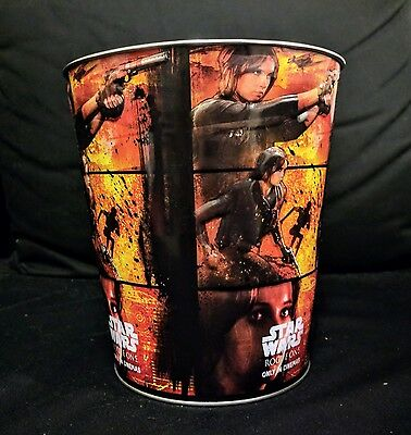 Star Wars Rouge One Tin Popcorn Bucket, Hoyts released, Lucasfilm collectable