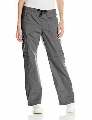 WonderWink Women's Wonderflex Faith Scrub Pant Pewter X-Large/Tall
