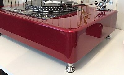 Chrome Turntable Amp Cd Feet Sets (4 Pcs/set) Chrom Füsse (Nur Die Füsse!!)