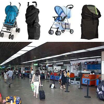 Gate Check Pram Travel Bag Stroller Pushchair Convenient Waterproof Buggy Cover