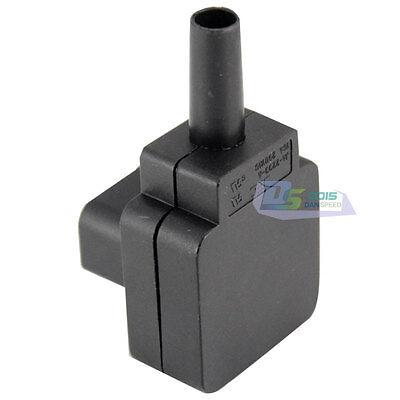 Useful Premium IEC C14 Down Angle Rewirable Connector Plug Socket Home Traveller