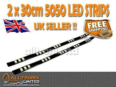 universelle Passform 30cm DRL SMD LED Opel Ascona Set