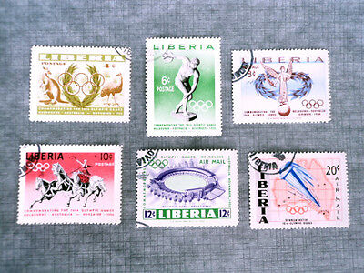 16 Olympic Games Melbourne 1956  Mint Never Hinged  / CTO