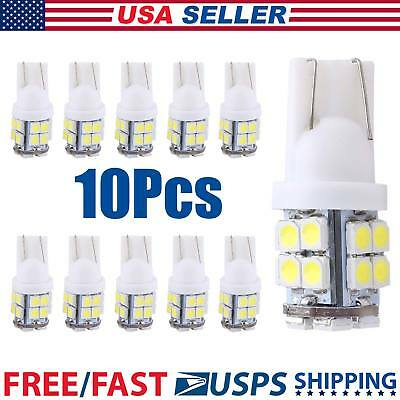 10x T10 20 SMD White Super Bright Car LED Lights Bulb – 194,168,2825,W5W