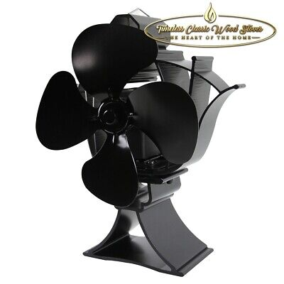 NEW MODEL!!!  HUGE Heat powered stove combustion wood heater Eco fan