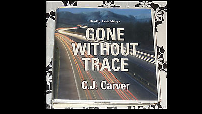 C.J. CARVER - GONE WITHOUT TRACE audiobook cd