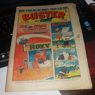 BUSTER & COR Comic 29th June 1974