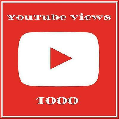 1.000 + Views für ihr Youtub Video