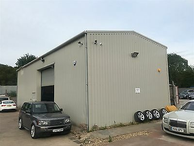 Steel Portal Building  - Large Warehouse Workshop  Claded Cost In Excess Of £45k
