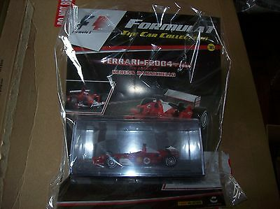 Formula 1 The Car Collection Part 36 Ferrari F2004 Rubens Barrichello