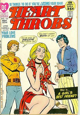 Heart Throbs #135. Nov 1971. DC. GD.