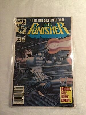 The Punisher #1 (Jan 1986, Marvel) Newsstand Edition