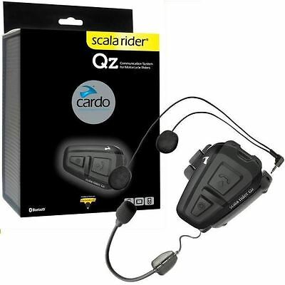 Cardo Scala Rider Qz Solo Headset Intercom System Bluetooth MC SRQZ0002