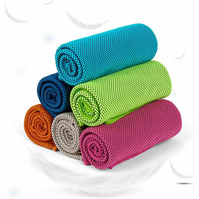 Instant Cooling Towel Sports Gym Towel Drying Sweat Pets Baby Absorb Dry