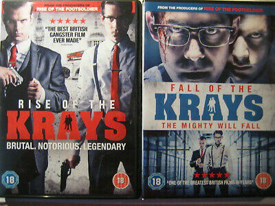 The Rise and Fall of the Krays (2 x DVDs, 2015) 2 DVD Set NEW SEALED, PAL R2