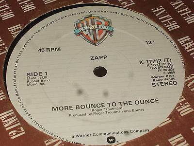 Zapp ‎– More Bounce To The Ounce   1980   FUNK!!