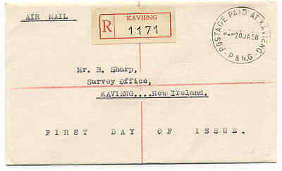 PAPUA NEW GUINEA- Postage Paid at Kavieng- KV PP1 – 950