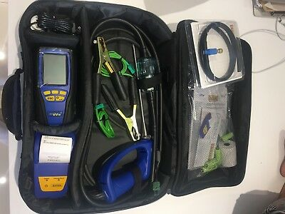 Anton Sprint eVo 3 Bluetooth Gas Analyser with holdall and certificate brand New
