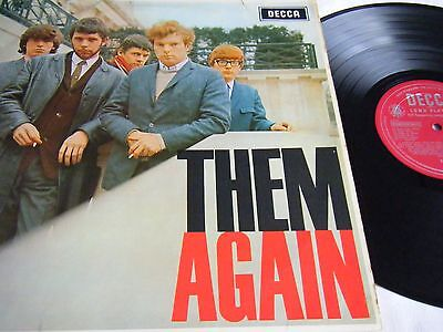 Them -  Them Again Original Uk 1966 Mono 1St Press, Decca Lk.4751  Van Morrison