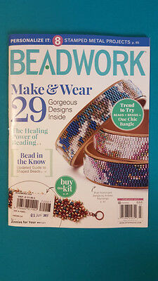 BEADWORK MAKE & WEAR USA JUNE/JULY  2017 englisch ungelesen 1A TOP