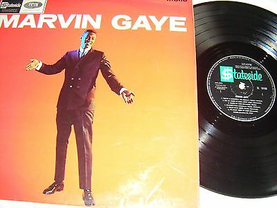 Marvin Gaye - Marvin Gaye Lp Org  Uk 1St Press, Stateside Sl 10100 1964  Ex.