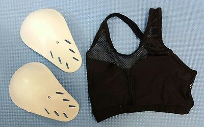 Female Chest Guard with protective cups (UK stock Fast delivery)