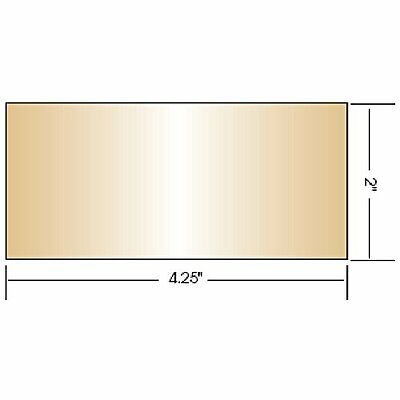 """Gold Coated Welding Lens Small (2"""" x 4.25"""") & Large (4.5"""" x 5.25"""") Lenses..."""