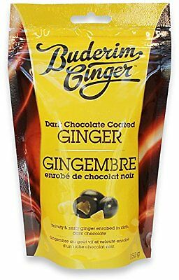 Buderim Ginger Milk Chocolate Coated Ginger Fruit Snacks 150g