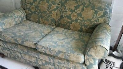 victorian drop arm sofa