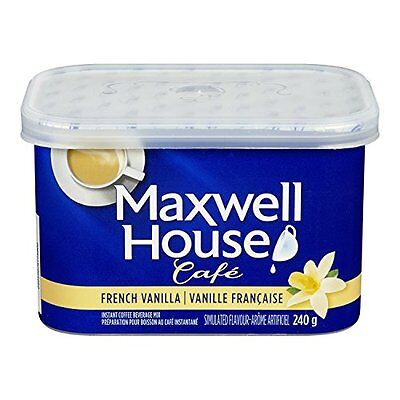MAXWELL HOUSE Caf? French Vanilla Instant Coffee 240g