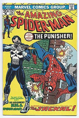Amazing Spider-Man #129 1st Appearance of The Punisher, 1974, Marvel, Conway