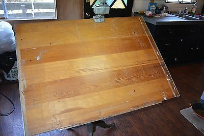 Antique cast iron  Art / Drafting Table. Antique, vintage, industrial. Complete