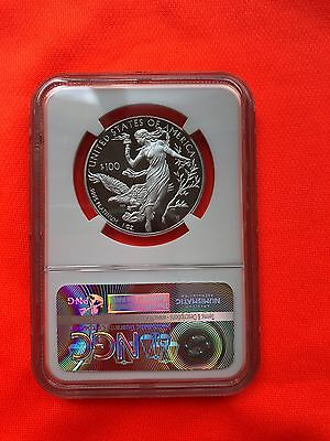 2016 W $100 Platinum Eagle Proof Sold Out  Graded Pf69 Ultra Cameo