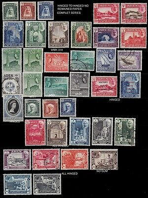 1942 - 1959 Aden ,seiylun ,shihr And Mukalla Small Lot Mint And Used