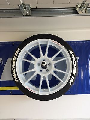 """Permanent Tire Letter Sticker Decal Michelin 1"""" For 17"""" 18"""" 19"""" 20""""21""""Tires 8pcs"""