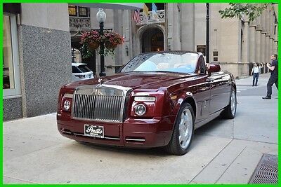 2010 Rolls-Royce Phantom Drophead Coupe Convertible 2-Door 2010 Used 6.8L V12 Rolls-Royce Phantom Drophead