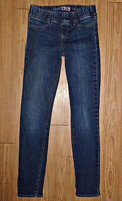 Gap Kids 1969 Girls Legging Stretch Jeans Size 10 Elastic Waist