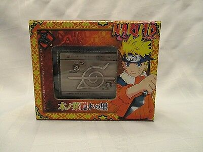 Naruto Japanese Anime Wallet Bandai 2006 with Box