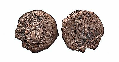 (8939) Chach AE coin, Unknown ruler.