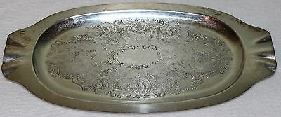 Viking Plate Silverplate Made in Canada Rectangular Tray