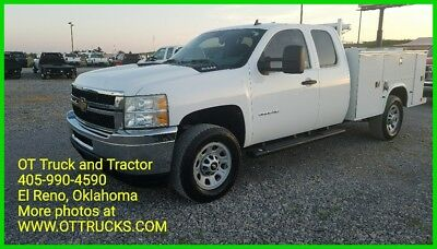 2011 Chevrolet Silverado 3500 Work Truck 2011 Chevrolet 3500HD 4wd Extended Cab Service Utility Bed 6.0L Gas