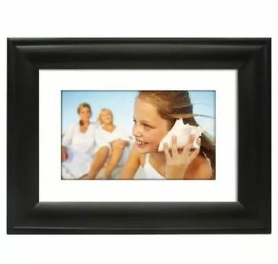 "10"" Digital Picture photo Frame 16.9 aspect ratio color up to 8GB sd with remote"