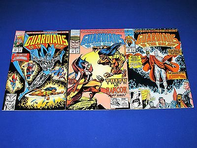 Lot of 3 GUARDIANS OF THE GALAXY Issues #22 - 24 [Marvel 1992] VG/NM Or Better!