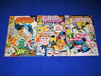 Lot of 3 GUARDIANS OF THE GALAXY Issues #28,29,31 [Marvel 1992] VG/NM Or Better!