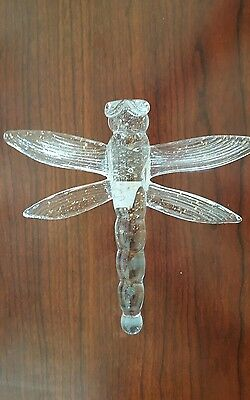 New - Large glass dragonfly