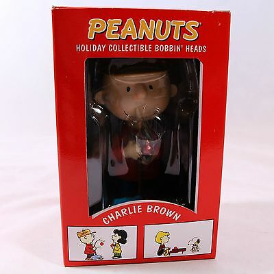 """""""Peanuts"""" Holiday Collectible Bobbin' Heads, Unused in Box, Dist. by Target"""