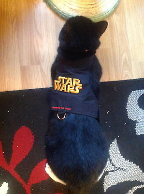 Mynwood Cat Walking Jacket Harness Vest Holster STARWARS Adult or Kitten